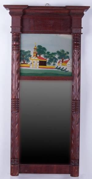 Federal Style Trumeau Mirror