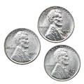 Us 1943 1943d 1943s 1c coins