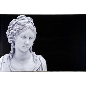 Large epson prints 20th c two acrylic mounted prints of classical roman sculptures 40 x 60