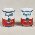 After andy warhol american 19281987 rosenthal studio line campbells soup whitered salt and pepper shakers in original box 2 38 x 1 34 dia