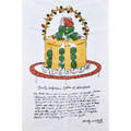 After andy warhol offset lithograph on fabric dorothy killgallens gateau of marzipan from wild raspberries 29 12 x 19 38