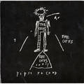 Jeanmichel basquiat american 19601988 offset lithograph album cover album inside the offs 1984 from an edition of 2500 12 14 x 12 38