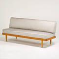 John stuart daybed denmark 1950s beech upholstery unmarked 33 x 76 x 28