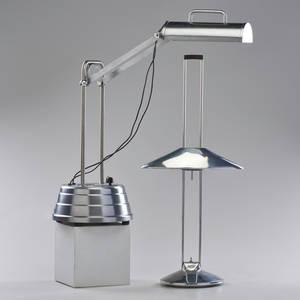 Sun kraft etc adjustable sun lamp and similar industrial desk lamp usaspain 1970s chromed steel sun kraft with manufacturer label desk lamp stamped made in spain sun kraft as shown 23