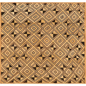 Hand woven textile 24 34 x 23 irregular