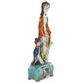Susi singer glazed ceramic sculpture of mother and child austria 192537 stamped made in austria ss grunbach schneeberg 16 14 x 5 12