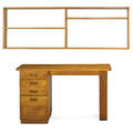 marcel breuer 1902  1981 desk chest of drawers and shelf ca 1938 birch birch plywood desk and chest stenciled rhoads desk 29 x 50 x 24 34 chest 29 x 50 x 24 12 shelf