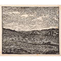 wharton esherick 1887  1970 woodblock print on rice paper april ploughing paoli pa ca 1924 pencil signed and titled chop mark in image sheet 12 x 13 12