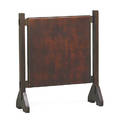 Gustav stickley rare early fireplace screen eastwood ny ca 1901 unmarked 35 x 30 34 x 11