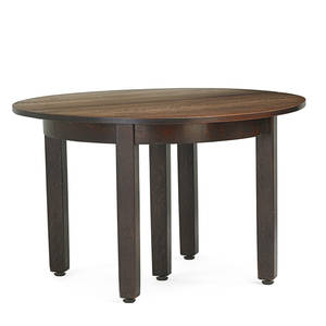 L  jg stickley dining table fayetteville ny ca 1912 the work of decal 29 34 x 48 three leaves 12 ea