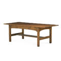 L  jg stickley massive library table fayetteville ny ca 1910 unmarked 29 x 83 14 x 35 14 note an extremely rare form we have only handled one other example of this table in 30 yea