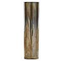 Fulper tall vase experimental flamb glaze flemington nj 191016 vertical rectangular stamp 13 14 x 3 12 provenance collection of robert a ellison new york