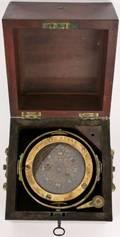 19th C ES Ritchie  Sons Marine Compass