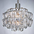Vistosi chandelier together with glass discs and ceiling mount from a second chandelier italy 1970s aluminum glass eleven sockets unmarked fixture approximately 22 x 19 dia