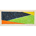 John edwards british 19382009 crayon drawing on paper drawing n 1968 framed signed and titled 21 12 x 29 12 sight