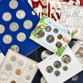 World commemorative proof mint sets and medals