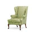George ii style walnut wing chair