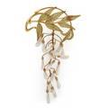 Pliqueajour wisteria brooch attrib vever