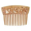 Rene lalique ombelles horn and diamond hair comb