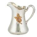 Whiting sterling silver and mixed metal pitcher