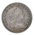 Us 1800 draped bust 100 coin