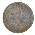 Us 1798 draped bust 100 coin