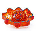 Dale chihuly portland press tiger lily seaform