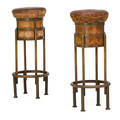 Maison desny pair of bar stools