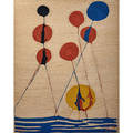 After alexander calder wall hanging balloons