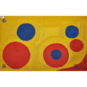 After alexander calder wall hanging sun