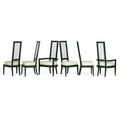 Charles hollis jones six dining chairs