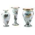 Wedgwood three lustre vases