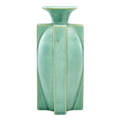 Teco small buttressed vase