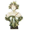 Ernst wahliss large amphora bust daphne