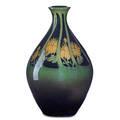 K shirayamadani rookwood iris glaze cabinet vase