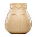 W post grueby large vase rare oatmeal glaze