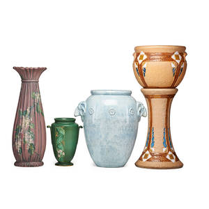Weller roseville four vessels