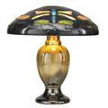 Fulper rare vasekraft lamp