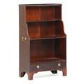 George iii style mahogany open bookcase