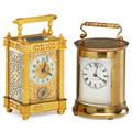 Brass carriage clocks