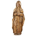 Continental carved wood santos figure