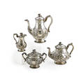 English sterling tea service