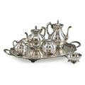 Taxco sterling coffee service