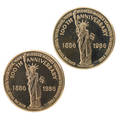 Us 1986 liberty gold medals
