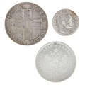 Coins of imperial russia and bulgaria