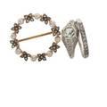 Edwardian gemset gold jewelry