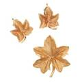 Gold maple leaf jewelry includes tiffany  co