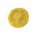 Ancient byzantine justin ii gold solidus