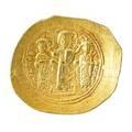 Ancient byzantine romanus iv gold nomisma