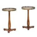 Pair of empire lamp tables